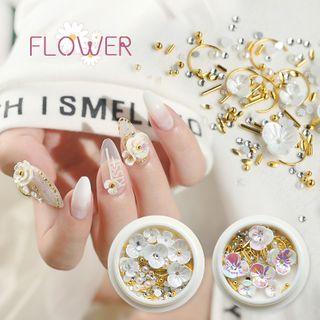 WGOMM - Flower 3D Nail Art Decoration - 10 Types