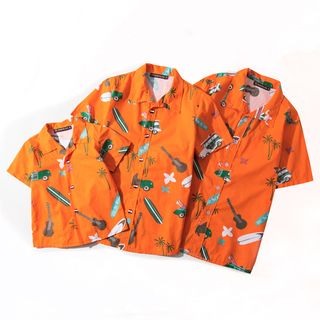 Carser - Family Matching Short-Sleeve Printed Shirt