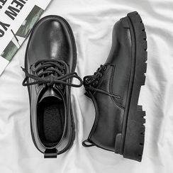 TATALON - Faux-Leather Oxfords