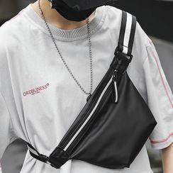 SUNMAN - 条纹带腰包