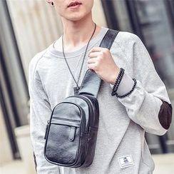 SUNMAN - Faux Leather Slingbag