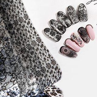 WGOMM - Lace Nail Art Decoration