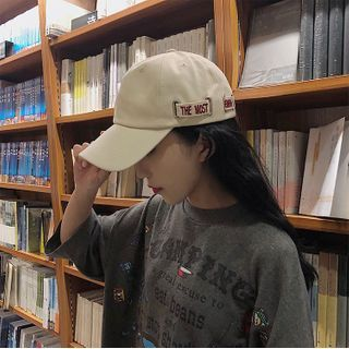 Hat Society - Lettering Baseball Cap