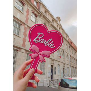chuu - 'Barbie Room' Heart Hand Mirror