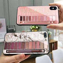 PHONESTAR - Makeup Color Palette Print Phone Case - iPhone 11 Pro Max / 11 Pro / 11 / SE / XS Max / XS / XR / X / SE 2 / 8 / 8 Plus / 7 / 7 Plus