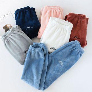 Somnus - Lettering Fleece Sweatpants