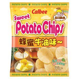 Calbee - Honey & Butter Flavored Potato Chips 55g