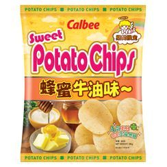 Calbee - Honey & Butter Flavored Potato Chips 55g