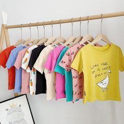 BobaBop - Kids Printed Short-Sleeve T-Shirt