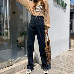 MyLeanna - Wide Leg Jeans
