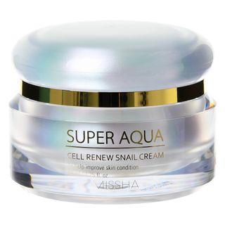 MISSHA - Super Aqua Cell Renew Snail Cream 52ml