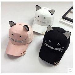 FROME - Cat Ear Baseball Cap