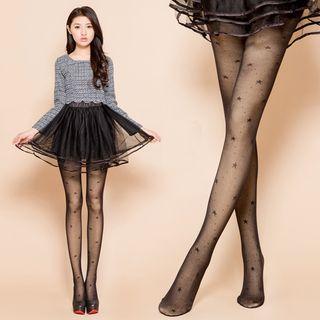 Beauty Focus - 180D保暖刷毛假透肤双层裤袜
