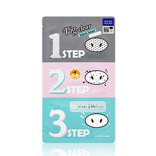 HOLIKA HOLIKA - Pig Clear Black Head 3-Step Kit