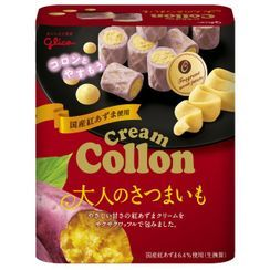 Glico - Sweet Potato Cream Sandwich Collon Roll 48g