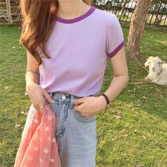 Soswift - Short-Sleeve Ringer T-Shirt