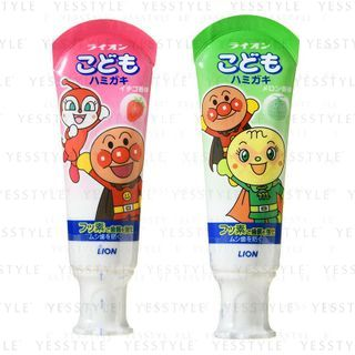 LION - Anpanman Kids Toothpaste 40g - 2 Types