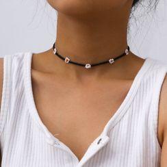 Seirios - Bead Flower Choker / Bracelet / Anklet