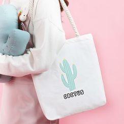 Canvas Love - 印花帆布手提袋