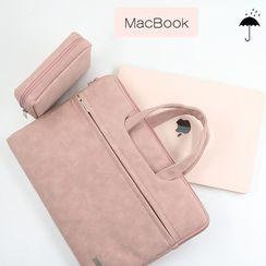 Simkim - 手提電腦公事包 / 拉鏈飾物小袋 / 套裝