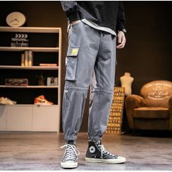 Alvicio - Buckled Cargo Pants