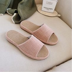 Meredith - Plain Home Slippers
