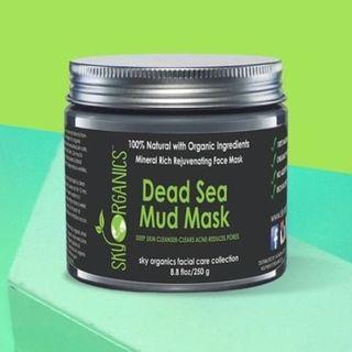 Sky Organics - Dead Sea Mud Mask, 8.8oz