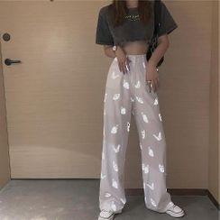 EROPIA - Reflective Butterfly Pants