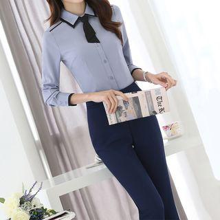Princess Min - 长袖衬衫/西裤