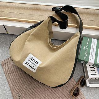 BAGUS - 字母帆布手提包