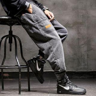 Rampo - Cargo Jogger Jeans