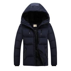 Carser - Hooded Padded Zip Jacket