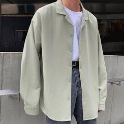 Nightbell - 純色襯衫