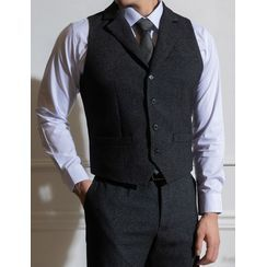 STYLEMAN - Buckled-Back Tailored Vest