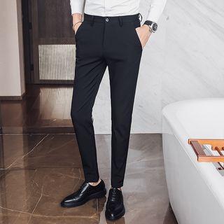 Besto - Slim-Fit Dress Pants