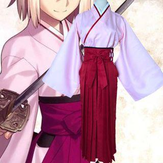 Kaneki - Fate/Zero冲田总司樱Saber角色扮演服装