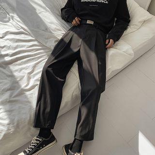 emeisa - Cropped Straight Leg Pants