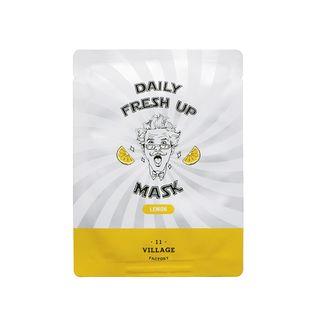 VILLAGE 11 FACTORY - Daily Fresh Up Mask (Limón) 1 pieza