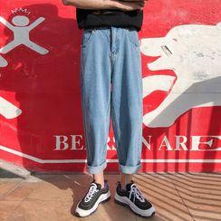 YERGO - 水洗哈倫牛仔褲
