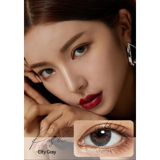 GLOW LOUDEY - Posh Monthly Color Lens #City Gray