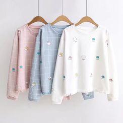 Mushijan - 印花套衫