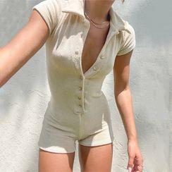 Paddlle - 短袖馬球連衣短褲