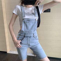 Sigasun - Denim Jumper Shorts