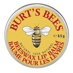 Burt's Bees - Beeswax Lip Balm Tin, 8.5g
