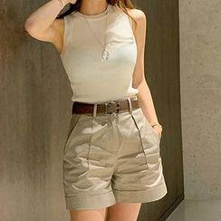 Aurora - 套装: 针织背心 + 短裤 + 腰带