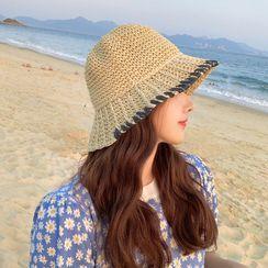 Hatfever - 草編太陽帽