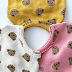 Bixin - Bear Print Pet Top