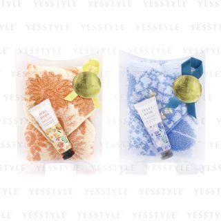 CHARLEY - KAZEHANA Handkerchief & Hand Cream Set 2 Types