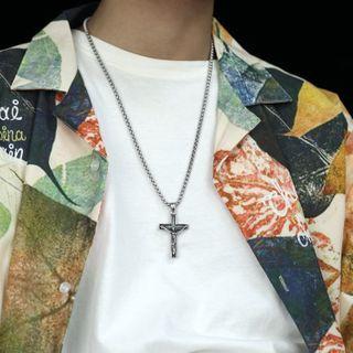 Tenri - Cross Stainless Steel Pendant / Necklace