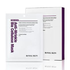 ROYAL SKIN(ロイヤルスキン) - Prime Edition Anti-Wrinkle Bio Cellulose Mask 5pcs